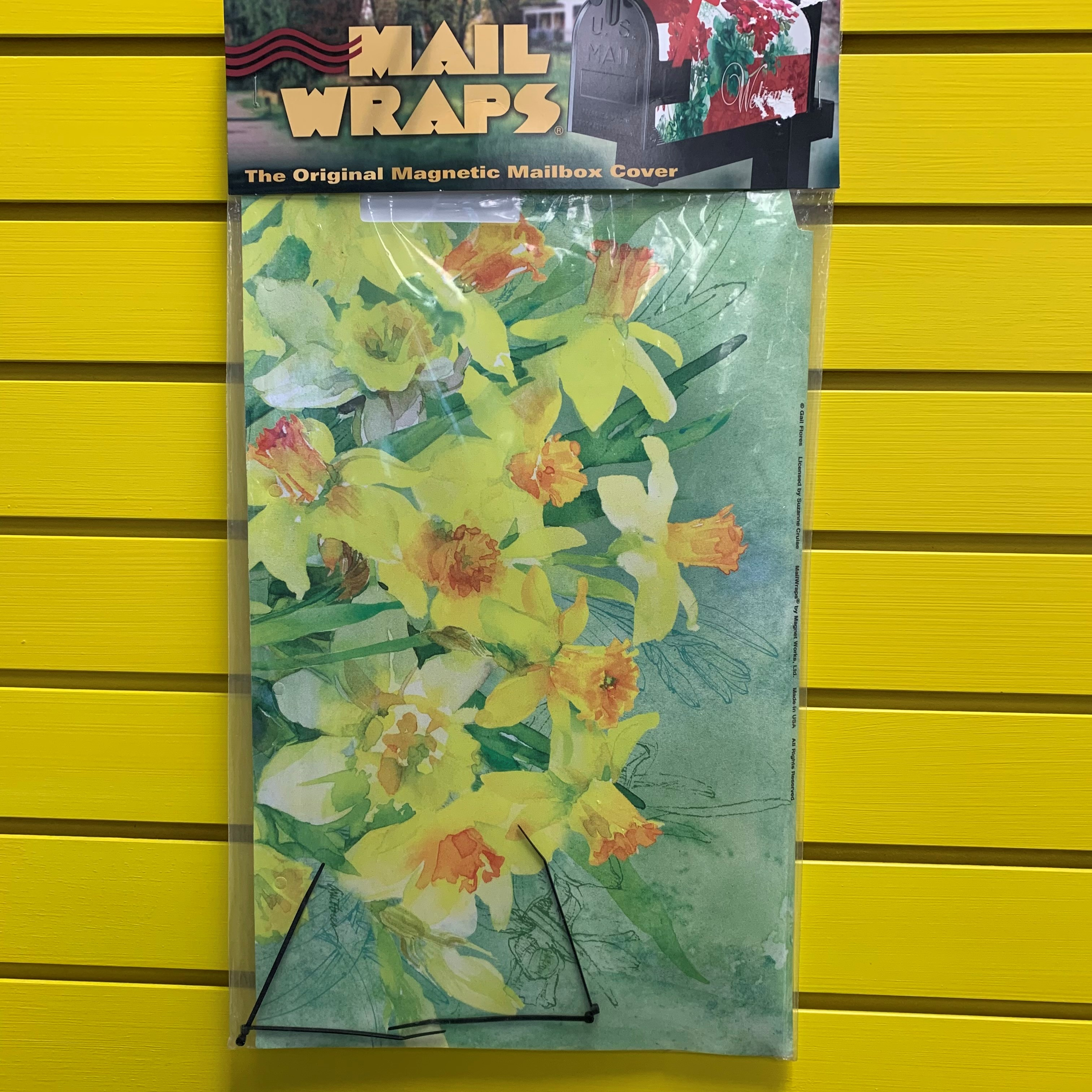 DAFFODILS MAILBOX COVER